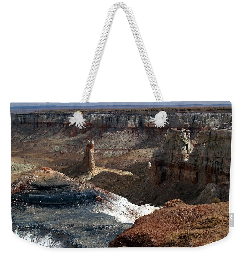 Landscapes Weekender Tote Bag featuring the photograph Coal Mine Mesa 09 by Jeff Brunton
