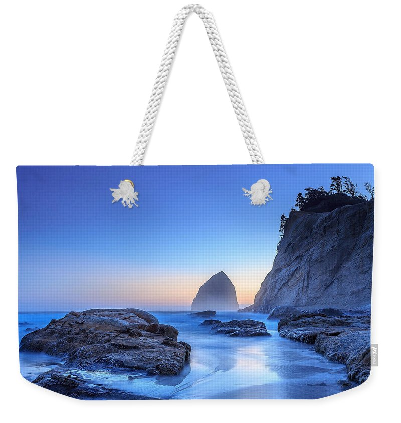 Beach Weekender Tote Bag featuring the photograph Coast 7 by Ingrid Smith-Johnsen