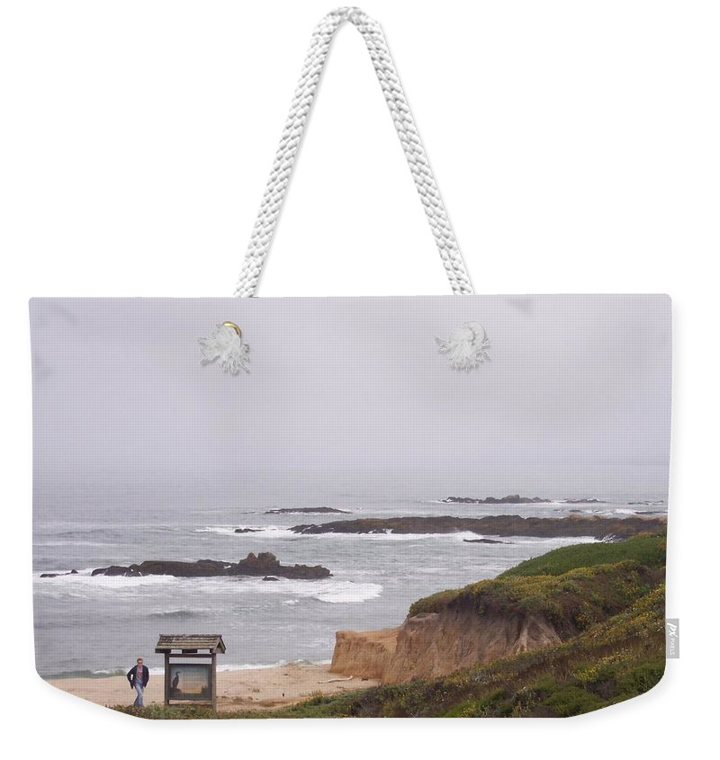 Coast Weekender Tote Bag featuring the photograph Coastal Scene 7 by Pharris Art