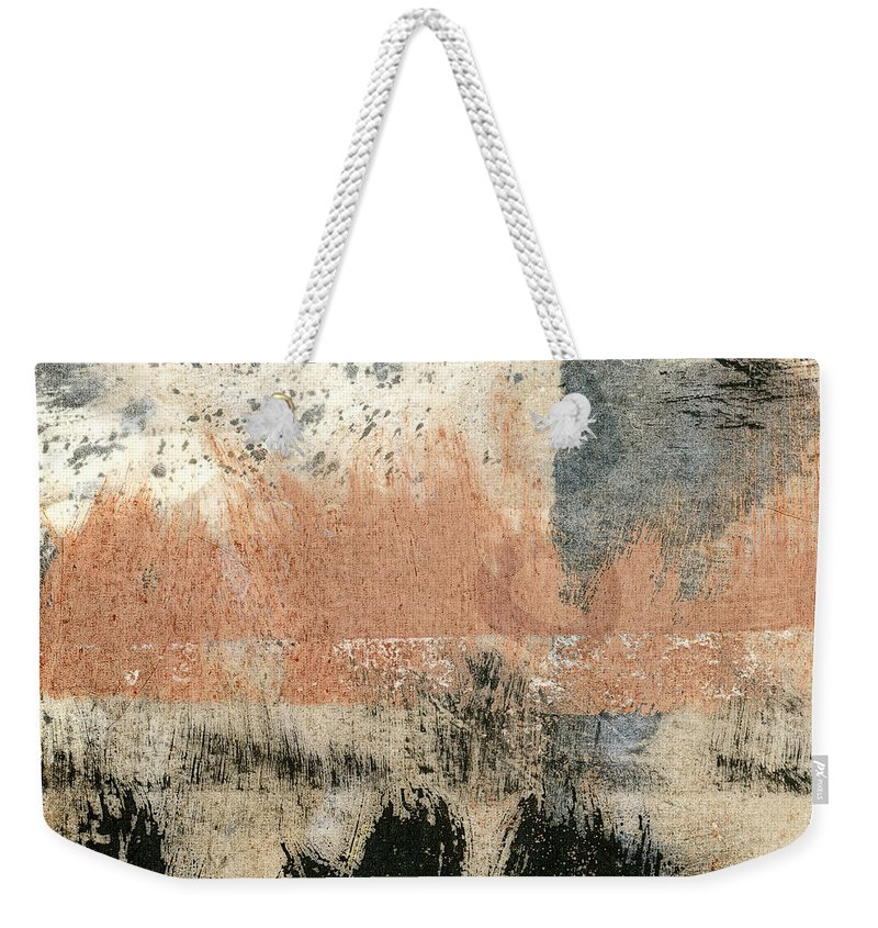 Coast Weekender Tote Bag featuring the painting Coastal Solstice by Carol Leigh