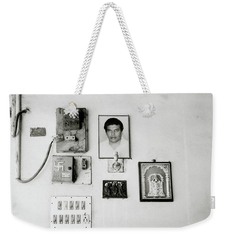India Weekender Tote Bag featuring the photograph Cochin Shrine by Shaun Higson