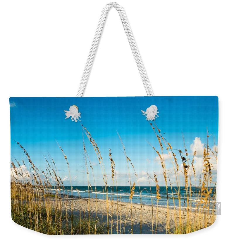 Cocoa Beach Weekender Tote Bag featuring the photograph Cocoa Beach by Raul Rodriguez
