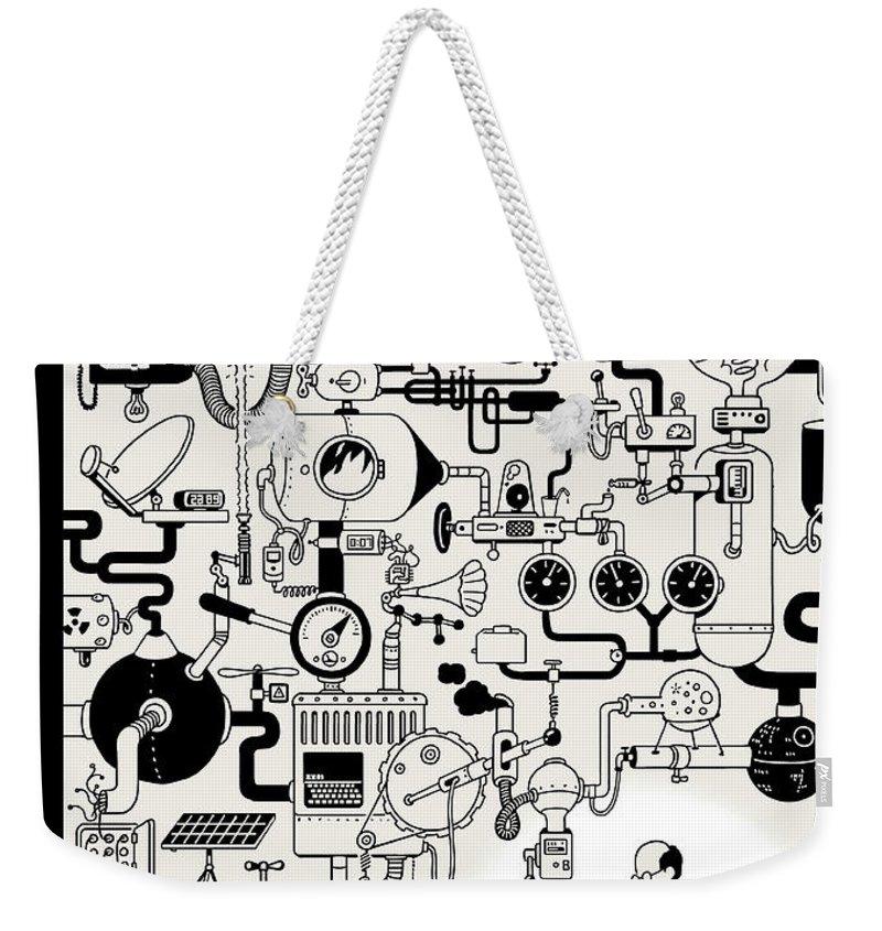 Coffee Break Weekender Tote Bag