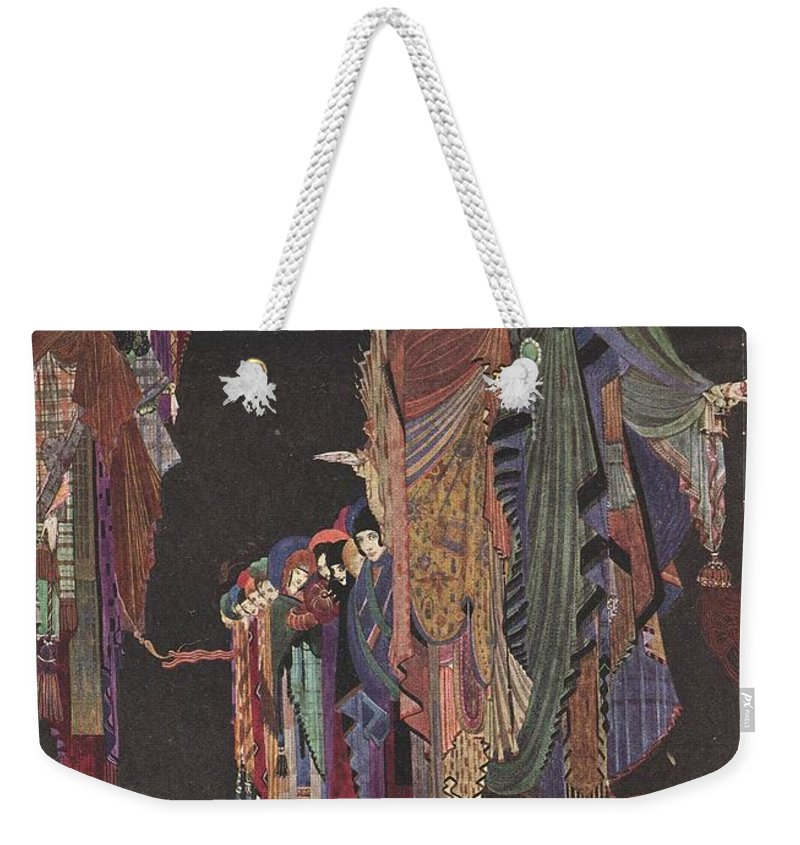 Harry Weekender Tote Bag featuring the painting Colloquy Of Monos And Una by Harry Clarke