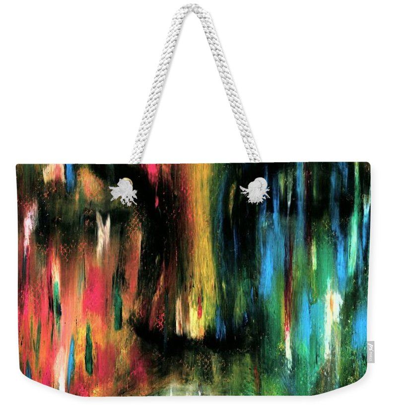 Colorful Weekender Tote Bag featuring the photograph ColorBlind by Artist RiA
