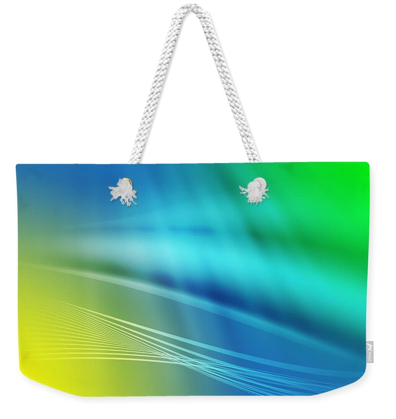 Abstract Weekender Tote Bag featuring the photograph Colorful Background by Paulo Goncalves