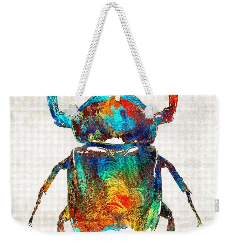 Beetle Weekender Tote Bags