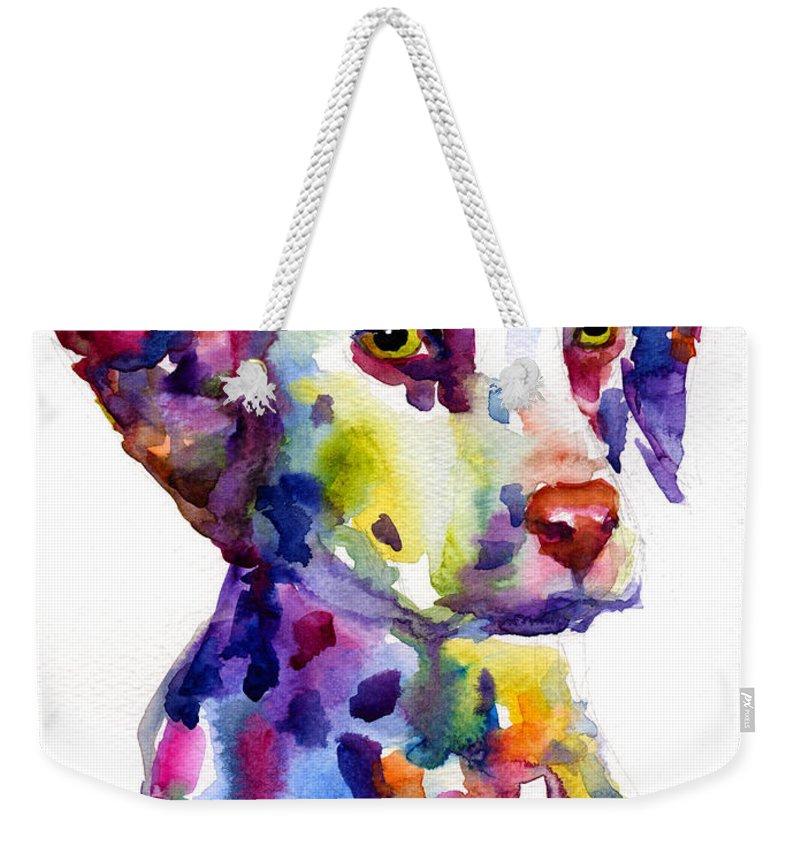 Watercolor Pet Portraits Weekender Tote Bags