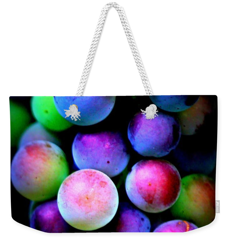 Grape Weekender Tote Bags