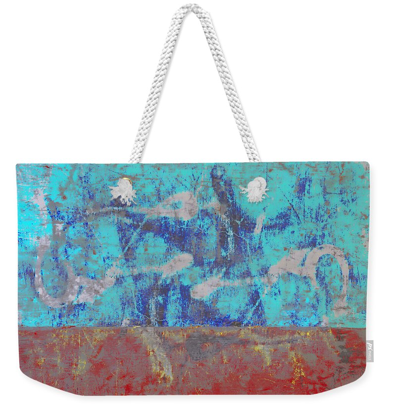 Abstract Weekender Tote Bag featuring the photograph Colorful Walls Number 1 by Carol Leigh