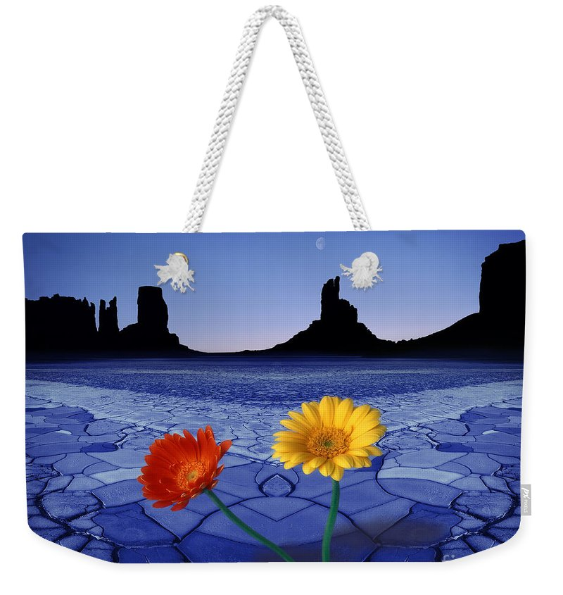 Digital Weekender Tote Bag featuring the photograph Colors In The Valley by Edmund Nagele