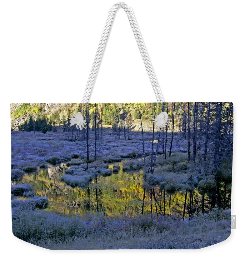Colorado Weekender Tote Bag featuring the photograph Colour Palette by Jeremy Rhoades