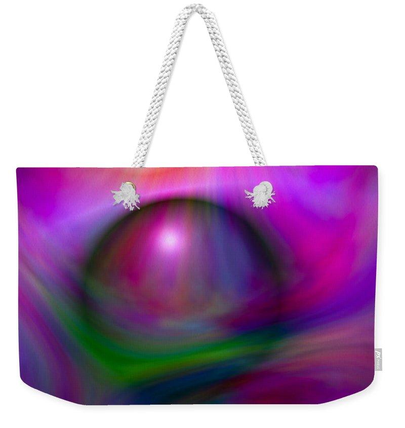 Artmatic Weekender Tote Bag featuring the digital art Colours Of Creation 2 by Hakon Soreide