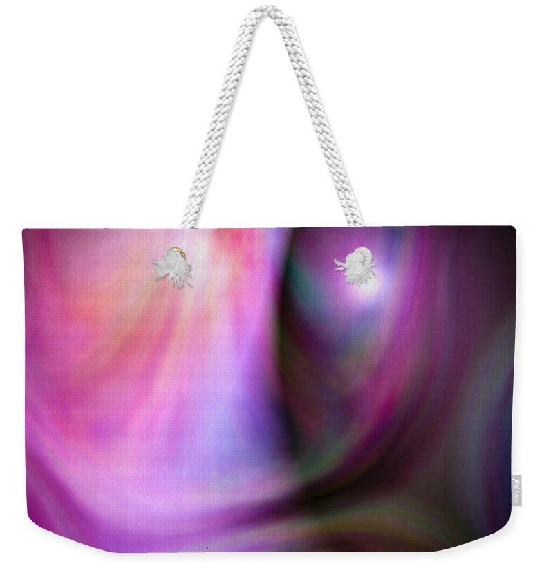 Artmatic Weekender Tote Bag featuring the digital art Colours Of Creation 3 by Hakon Soreide