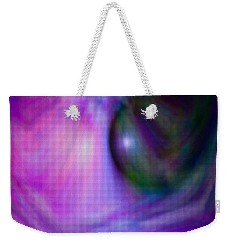 Artmatic Weekender Tote Bag featuring the digital art Colours Of Creation 4 by Hakon Soreide