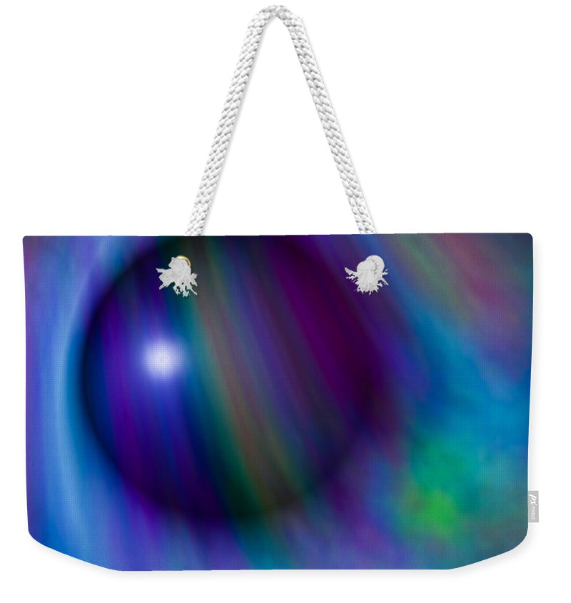 Artmatic Weekender Tote Bag featuring the digital art Colours Of Creation by Hakon Soreide