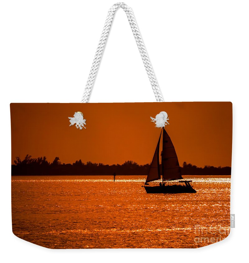 Sailing Weekender Tote Bag featuring the photograph Come Sail Away by Edward Fielding