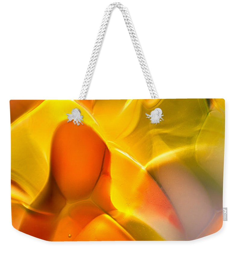 Glass Weekender Tote Bag featuring the photograph Companionship by Omaste Witkowski