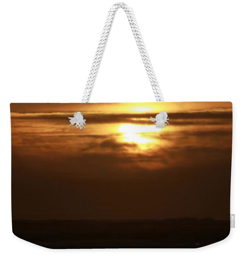 Ocean Weekender Tote Bag featuring the photograph Completion by Jeanette C Landstrom