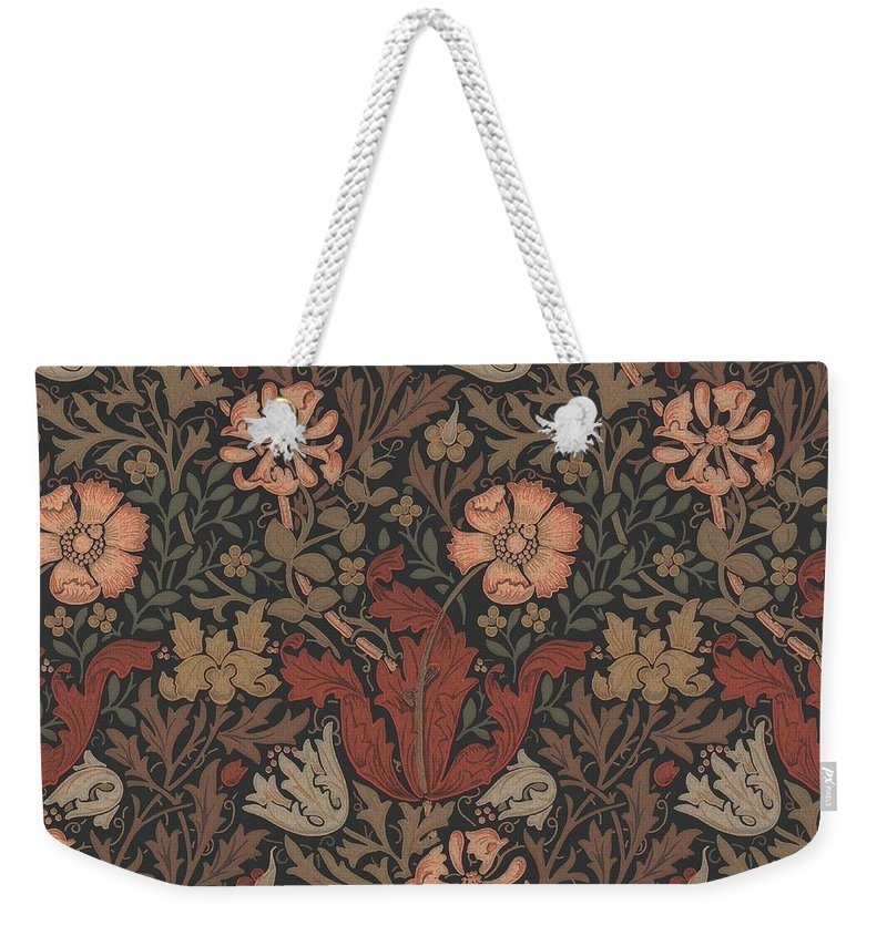 William Weekender Tote Bag featuring the tapestry - textile Compton Design by Philip Ralley