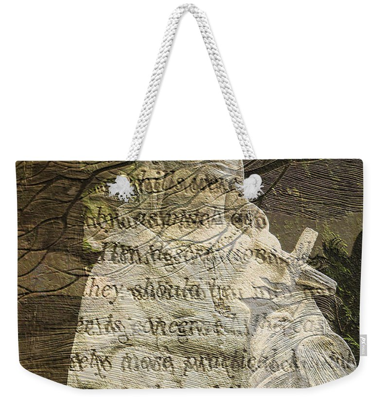 Nature Weekender Tote Bag featuring the photograph Concern - Faith - Nature by Marie Jamieson