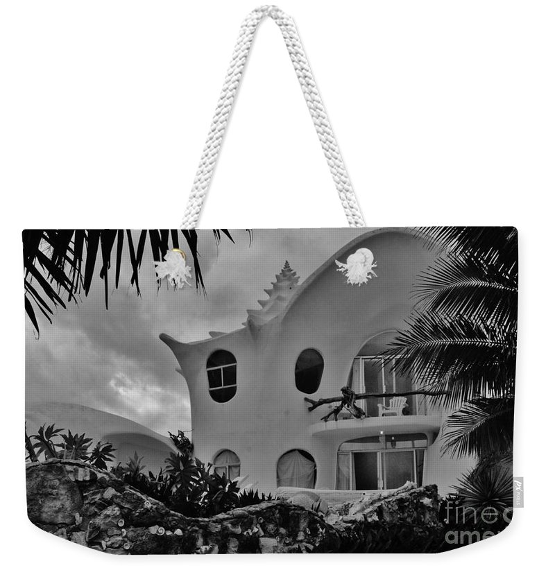Keri West Weekender Tote Bag featuring the photograph Conch Casa by Keri West