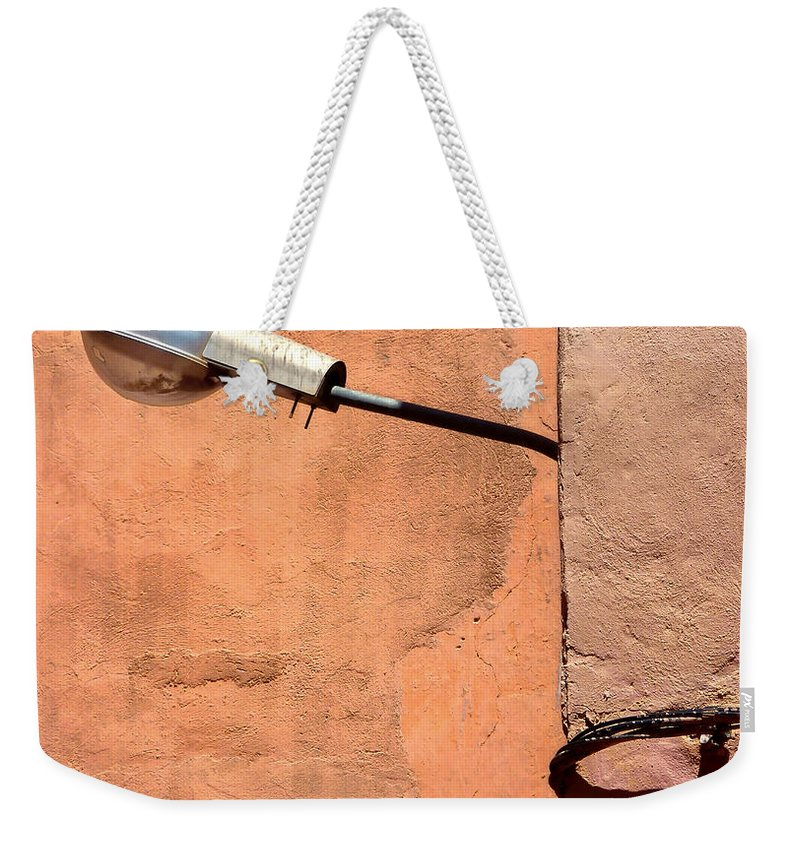 Morocco Weekender Tote Bag featuring the photograph Connectivity by A Rey