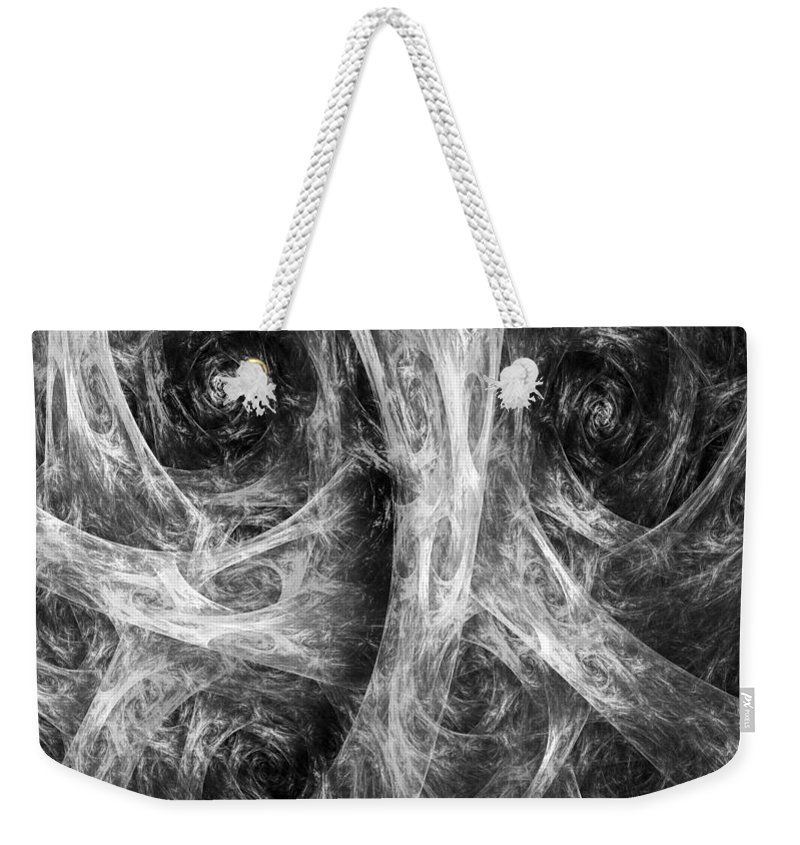 Conscience Weekender Tote Bag featuring the digital art Conscience 02 by RochVanh