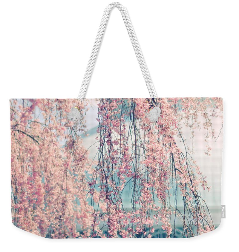Greenhouse Weekender Tote Bag featuring the photograph Conservatory In Spring by Jessica Jenney