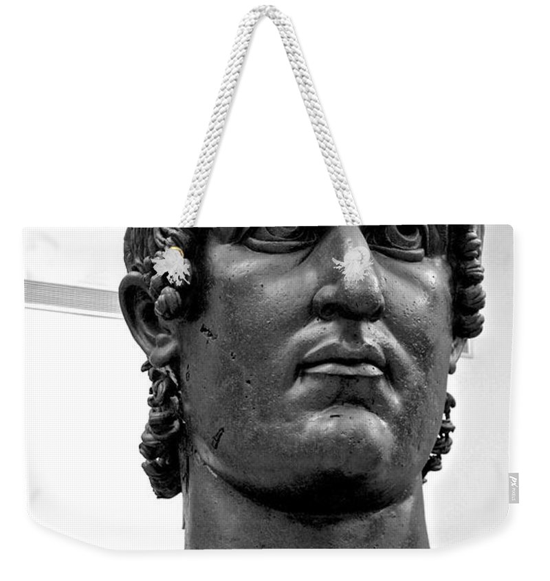 Rome Weekender Tote Bag featuring the photograph Constantine by Eric Tressler