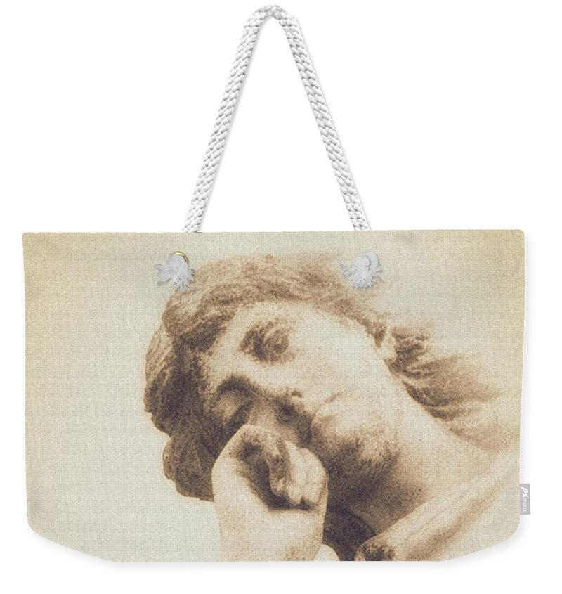 Contemplation Weekender Tote Bag featuring the photograph Contemplation by Caitlyn Grasso