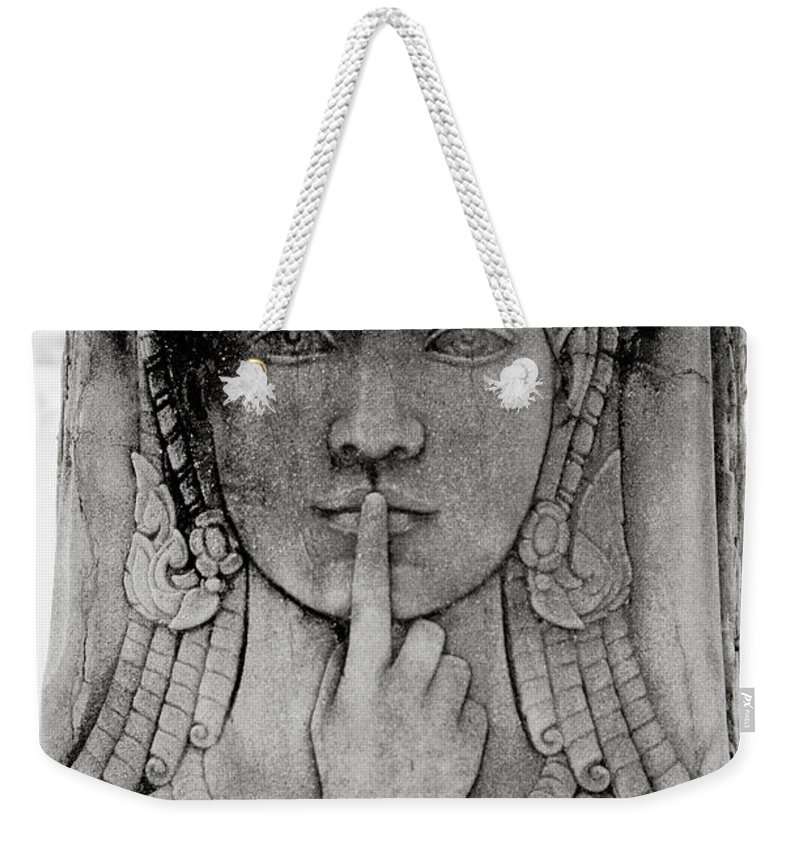 Solitude Weekender Tote Bag featuring the photograph Isolation by Shaun Higson