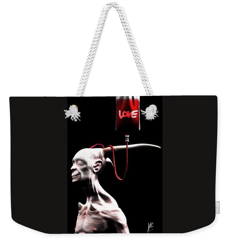Trappedinflesh Weekender Tote Bags