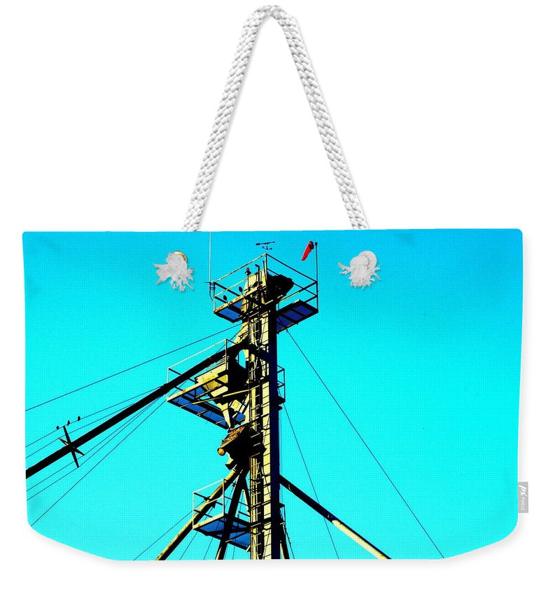 Elevator Weekender Tote Bag featuring the photograph Control by Joseph Yarbrough