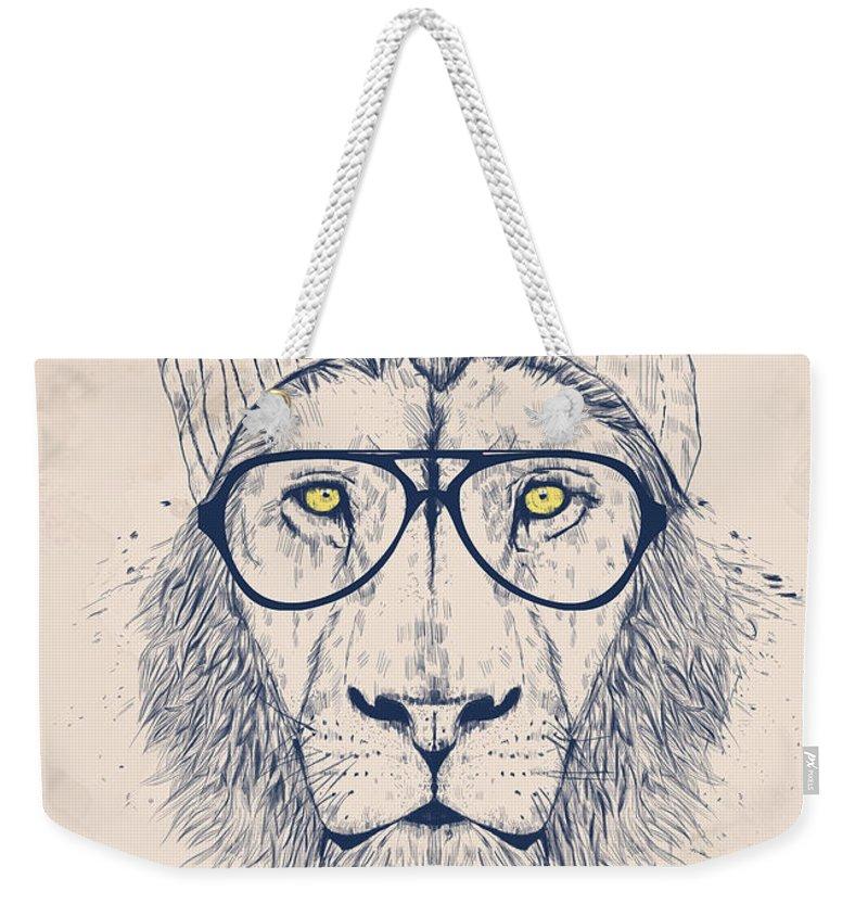 Glasses Weekender Tote Bags