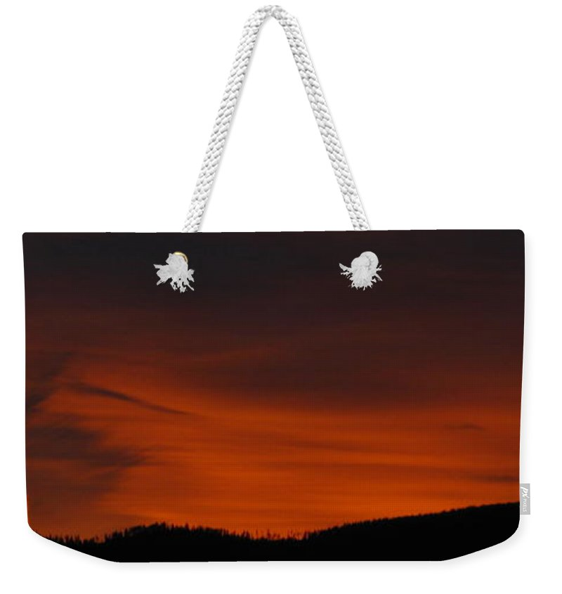 Nightscape Weekender Tote Bag featuring the photograph Cool Night by Greg Patzer