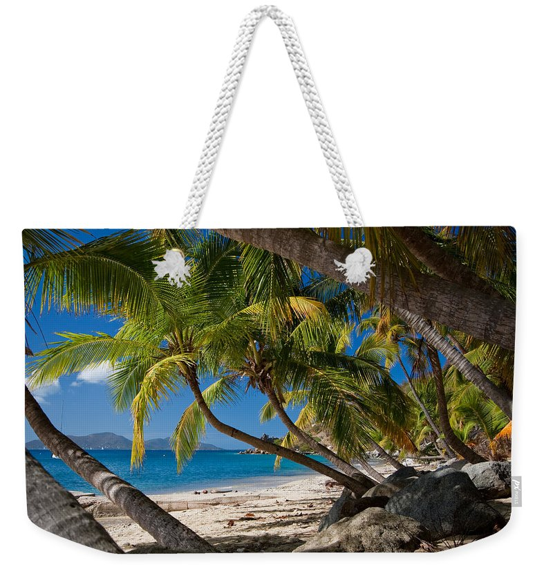 3scape Photos Weekender Tote Bag featuring the photograph Cooper Island by Adam Romanowicz