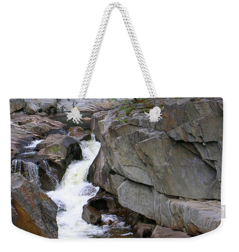 Waterfalls Weekender Tote Bag featuring the photograph Coos Canyon 1558 by Guy Whiteley
