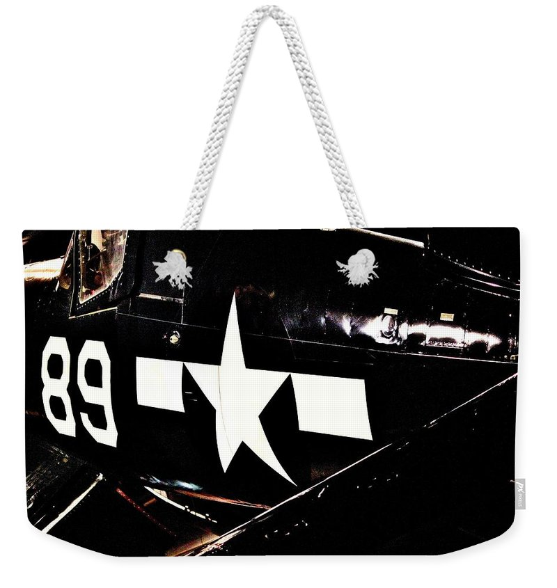 Corsair Weekender Tote Bag featuring the photograph Corsair by Benjamin Yeager