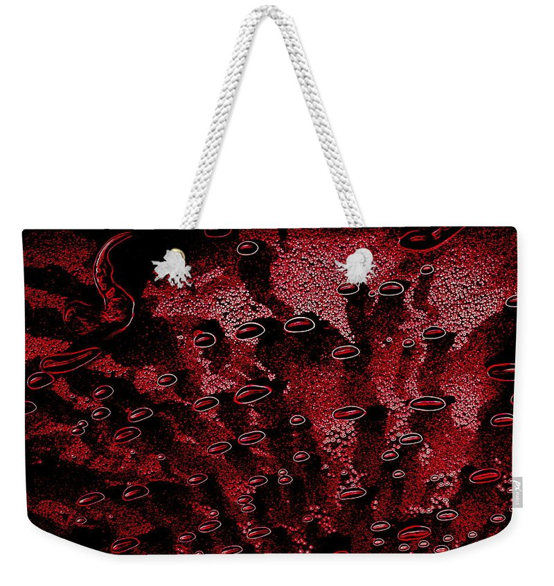 Cosmic Weekender Tote Bag featuring the photograph Cosmic Series 004 by Larry Ward