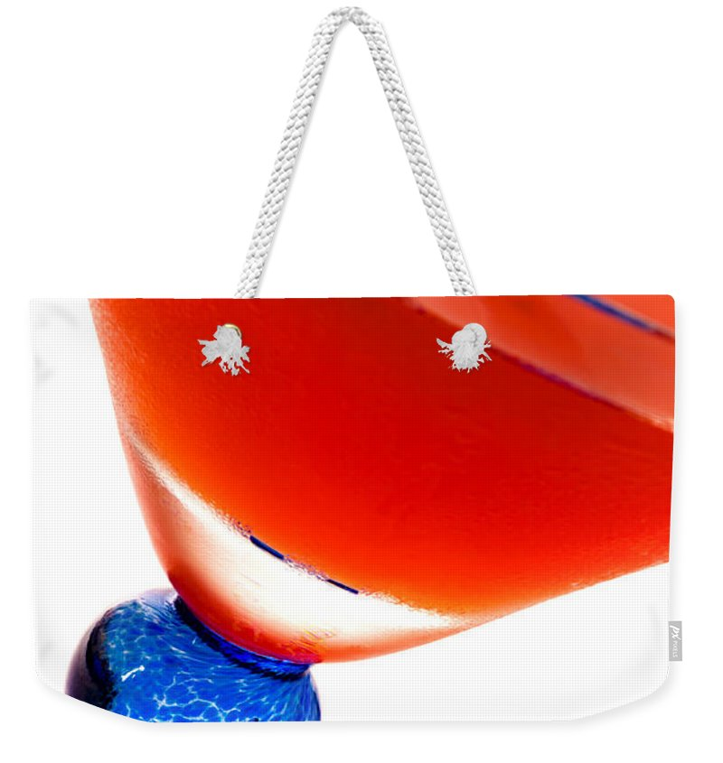 Alcohol Weekender Tote Bag featuring the photograph Cosmopolitan by Raul Rodriguez