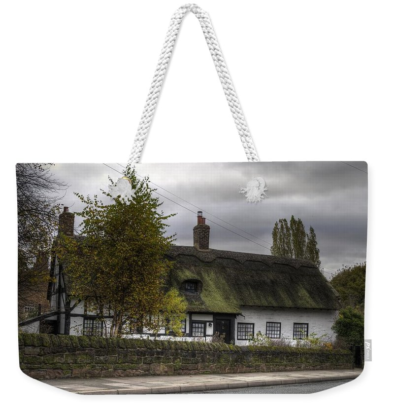 Thatch Cottage Weekender Tote Bag featuring the photograph Cottage 2 by Spikey Mouse Photography
