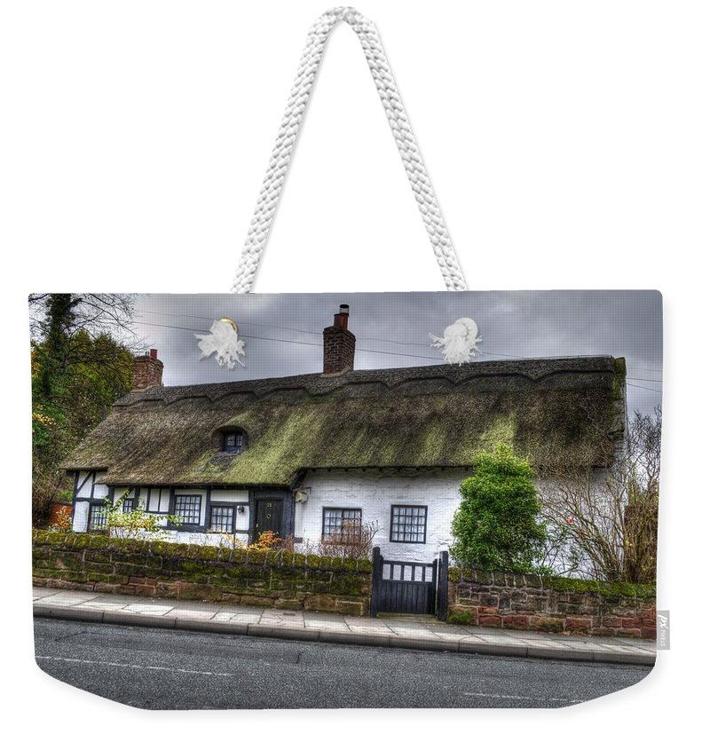 Thatched Cottage Weekender Tote Bag featuring the photograph Cottage 3 by Spikey Mouse Photography
