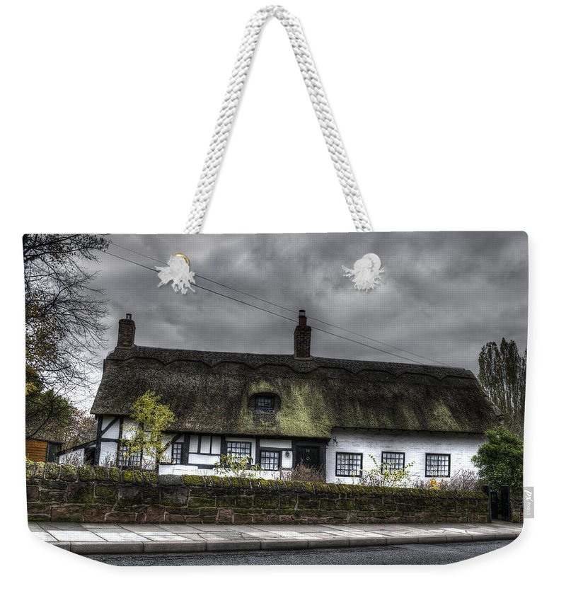 Thatched Cottage Weekender Tote Bag featuring the photograph Cottage by Spikey Mouse Photography