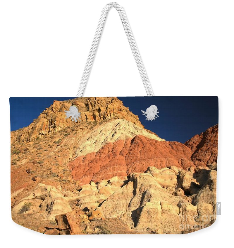 Cottonwood Road Weekender Tote Bag featuring the photograph Cottonwood Variety Landscape by Adam Jewell