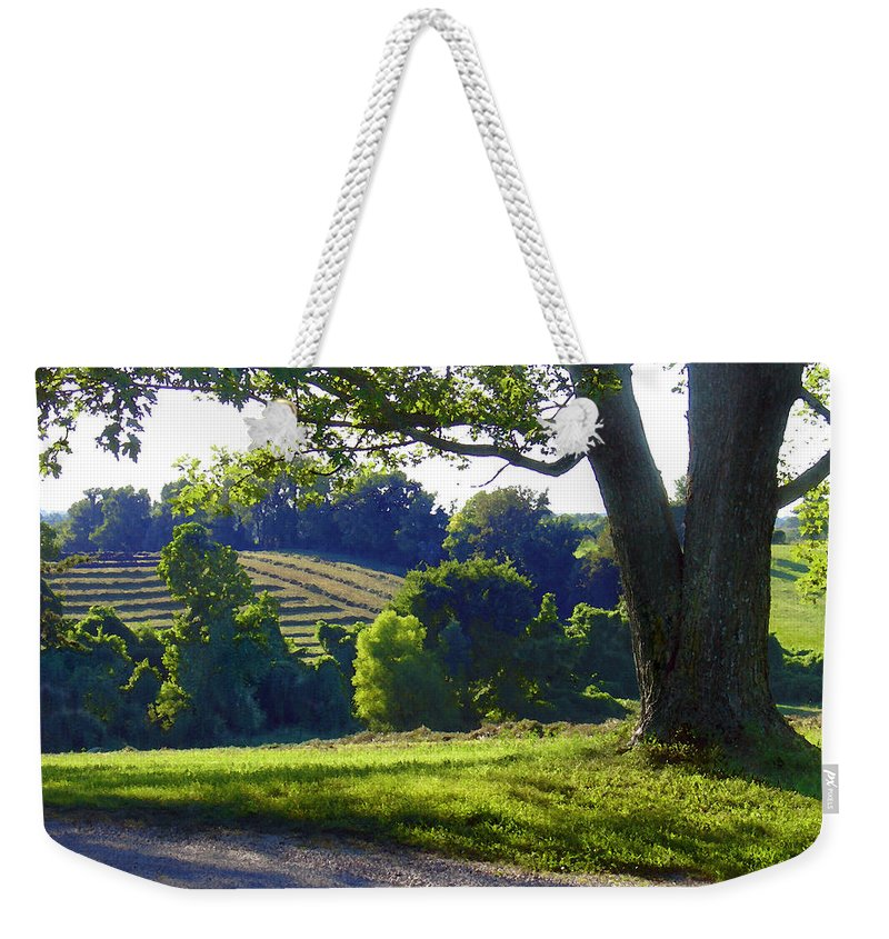 Landscape Weekender Tote Bag featuring the photograph Country Landscape by Steve Karol