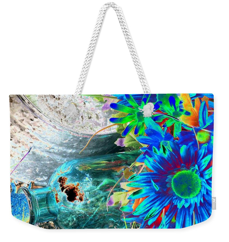 Flower Weekender Tote Bag featuring the photograph Country Summer - Photopower 1520 by Pamela Critchlow