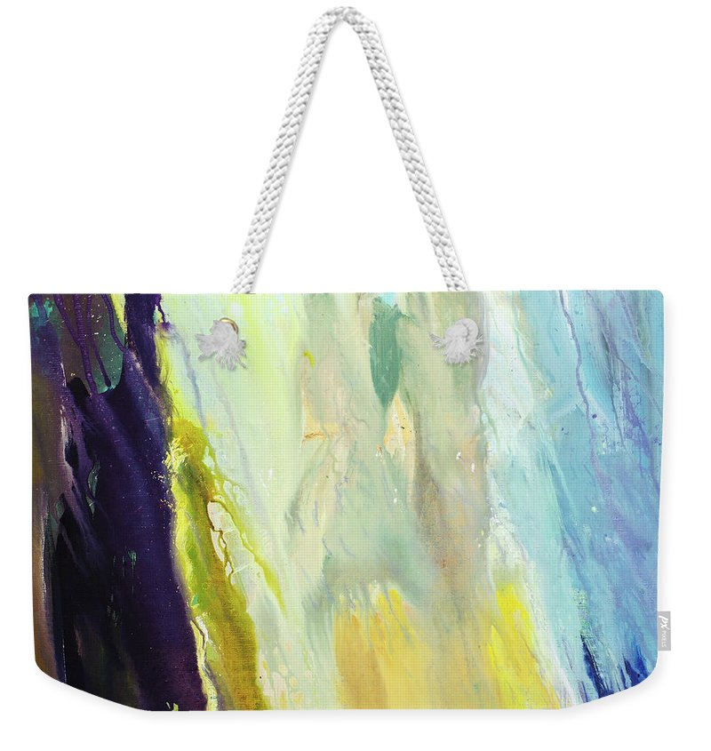 Art Weekender Tote Bag featuring the digital art Couple by Balticboy