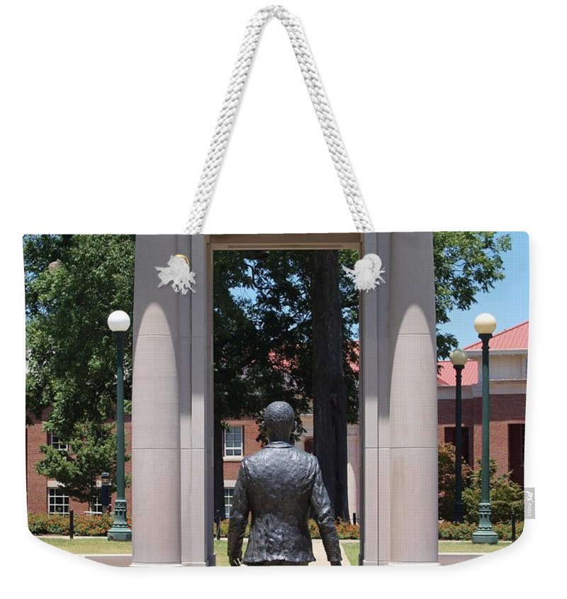 Courage Weekender Tote Bag featuring the photograph Courage by Joshua House