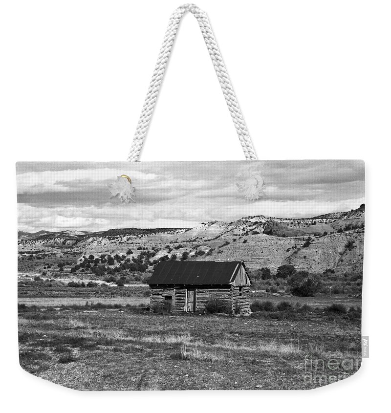 Utah Weekender Tote Bag featuring the photograph Courage by Kathy McClure